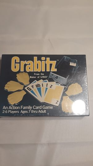 Vintage Grabitz Board Game 1979 Complete Action Family Card Game for Sale in Los Angeles, CA