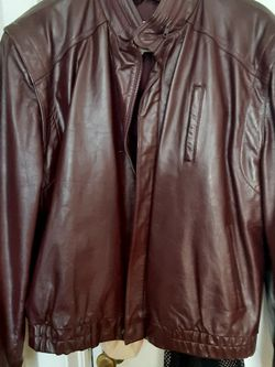 Vintage Brown Wilson Leather Jacket for Sale in Oklahoma City,  OK