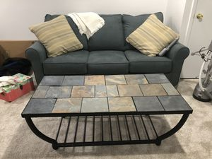 Excellent Condition Stone coffee table for Sale in Alexandria, VA