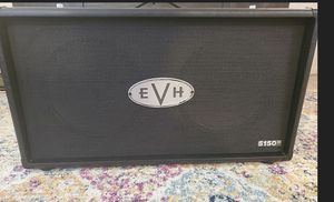 EvH 2x12 cab. Great shape with cover. for Sale in Fairfield, CT