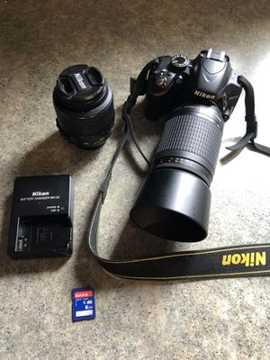 Nikon D3200 DSLR for Sale in East Amherst, NY