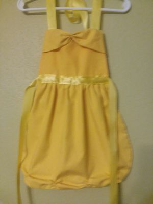 Belle Princess Dress Up Apron Handmade Girl's 3 Sizes for Sale in St. Louis, MO