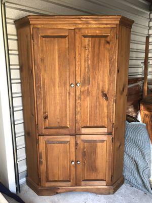 Custom Made Corner Cabinet Solid Wood for Sale in High Springs, FL