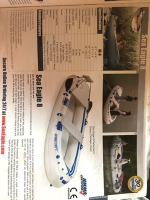 Sea Eagle 8 inflatable Boat for Sale in Richmond, CA