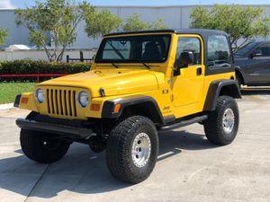 2006 Jeep Wrangler TJ for Sale in Sunrise, FL