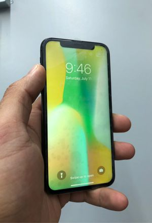 iPhone X factory unlocked 64 for Sale in Houston, TX