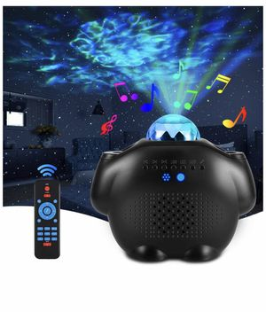 Star Projector Night Light with Bluetooth Speaker Galaxy Projector with Remote Nebula Cloud Voice Control LED Sky Lights for Kids,Bedroom,Game Room, for Sale in Quitman, TX