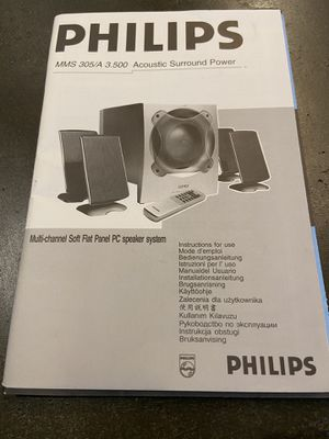 Phillips Surround Sound Speaker System for Sale in Washington, PA