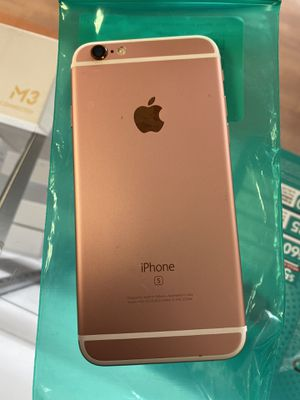 iPhone 6s 32gb rose gold factory unlocked work for any carrier and overseas for Sale in Plantation, FL