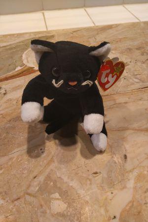 Zip 1994 Beanie Baby Black White Tuxedo Cat Kitty for Sale in Herndon, VA