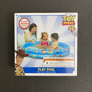 NEW - Disney Toy Story 4 Inflatable Play Pool for Sale in Fairfax, VA