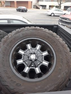 Tires and rims for diesel for Sale in Goodfield,  IL