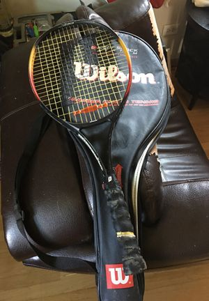 Prince tennis racket with case for Sale in Chicago, IL