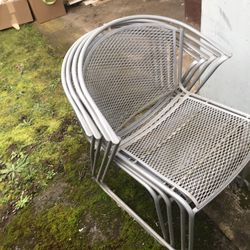Stackable Steel Chairs for Sale in Vancouver,  WA