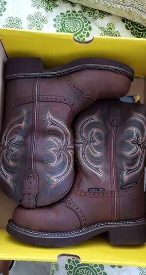 Women's Justin Gypsy steel toe work boots for Sale in Santa Maria, CA