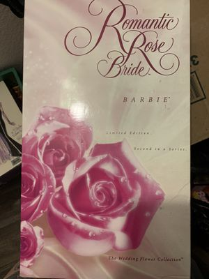 Romantic Rose Bride Barbie-Limited Edition- Second in a Series for Sale in Phoenix, AZ