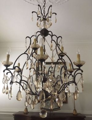 3 Chandeliers, 2 Medium and 1 Large for Sale in Knightdale, NC