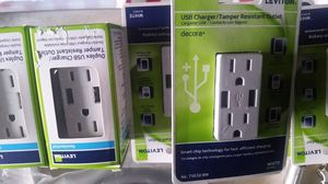 USB connector outlet New $10 each for Sale in Houston, TX