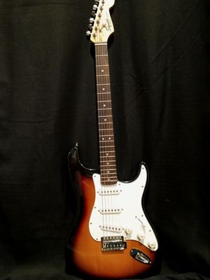 TWO fender strat squiers guitars.and AMP for Sale in Portland, OR