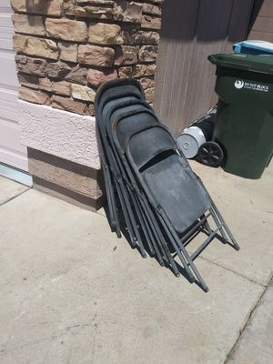 metal chairs for Sale in Phoenix, AZ