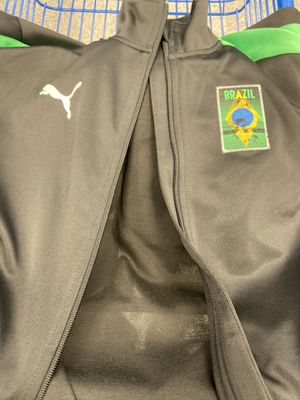 Brazil jacket puma for Sale in Rancho Dominguez, CA