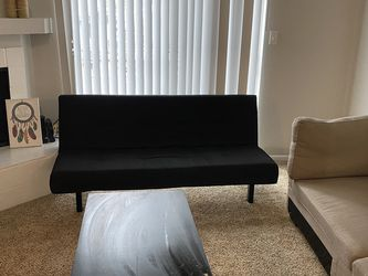 Black Futon Attached To Frame - Still available for Sale in Austin,  TX
