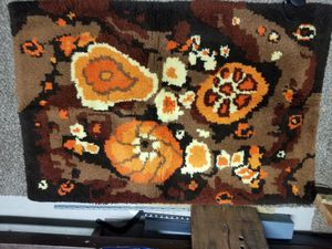 Hand hooked rug or wall hanging for Sale in San Luis Obispo, CA