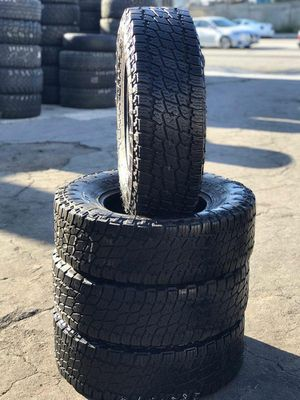 Nitto tires 285/75r17 for Sale in Long Beach, CA