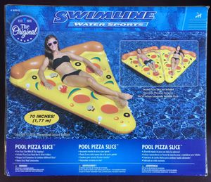 large Pool Pizza Slice Inflatable - BRAND NEW / SEALED.. See my other offers for Sale in Stockton, CA