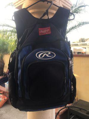 Rawlings Baseball Softball adult backpack for Sale in Lynwood, CA
