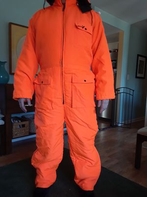 Winchester hunter orange hooded, insulated coveralls. XL. Excellent condition. for Sale in Port Orchard, WA