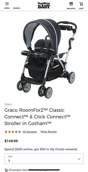 Graco RoomFor2 Classic Connect for Sale in Oceanside, CA