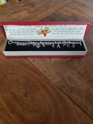 12 days of Christmas charm bracelet for Sale in Arcadia, CA