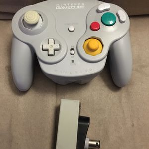 Nintendo OEM GameCube Wavebird Controller DOL-004 with Receiver Tested for Sale in Murrieta, CA