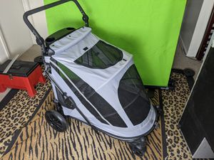 Pet Gear Expedition No-Zip Dog & Cat Stroller, Dark Platinum for Sale in Tempe, AZ