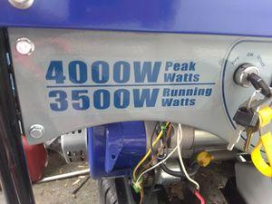 UF ULTRA 3500/4000 WATTS GENERATOR for Sale in Penn Hills, PA