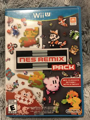 Wii U *NES REMIX* Nintendo 👦🏼 for Sale in Snohomish, WA