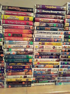 VHS movies for Sale in San Antonio, TX
