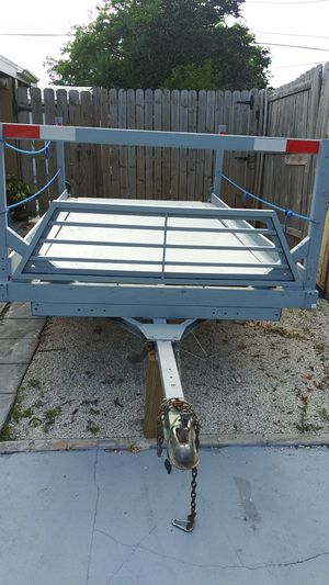 Utility trailer 8x4 paid load for Sale in Fort Lauderdale, FL