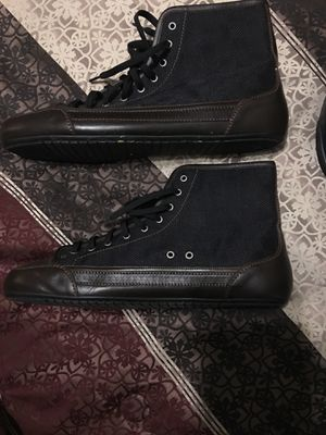 Louis Vuitton shoes 48cm sz14 worn twice for Sale in Raleigh, NC