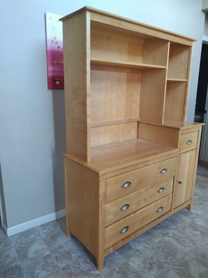 Solid Maple Cabinet/Dresser for Sale in Marengo, IL