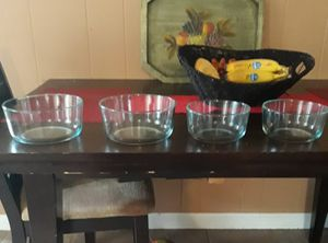 4 vintage Pyrex mixing bowl cookware for Sale in East Greenwich, RI