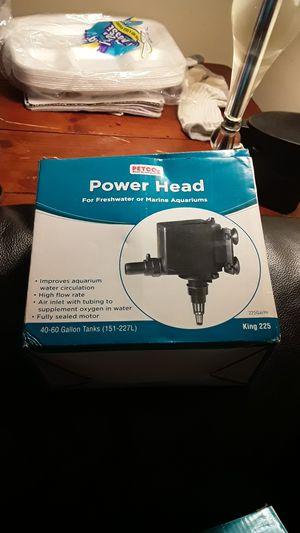 2--New Petco Power Head 40-60 Gallon for Sale in Brockton, MA