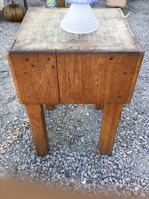 Wooden Butcher Block for Sale in San Jose, CA