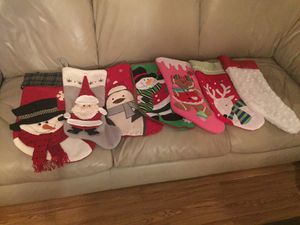 7 Christmas Stockings for Sale in Burlington, WI