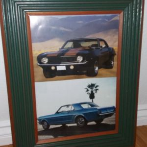 "Classic Car framed pictures 24""×19"" , excellent condition for Sale in Rancho Cucamonga, CA"