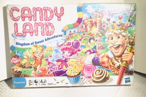 2010 Hasbro CandyLand World Of Sweets Children's Kid's Game for Sale in Central Falls, RI
