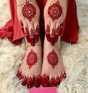 3 Red Henna Cones Temporary Tattoo Ink for Sale in Montville, NJ