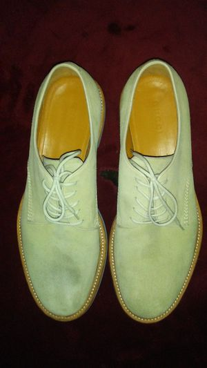 GUCCI Classic Lace Up Tan Suede Oxfords for Sale in Denver, CO