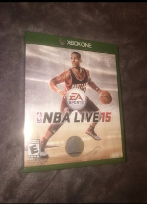 NBA live 15 Xbox one game for Sale in Cocoa, FL